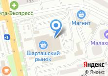 Компания «Молочное место» на карте