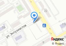 Компания «Автостоянка на ул. Энтузиастов» на карте
