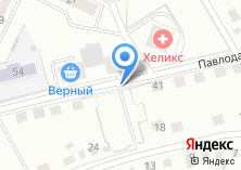 Компания «Автостоянка на Павлодарской» на карте
