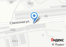 Компания «МДФ-МЕБЕЛЬ» на карте