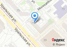 Компания «Турбо-Сайт» на карте