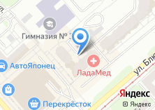 Компания «Банкомат АКБ РОСБАНК» на карте
