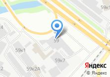 Компания «Ревдамебель» на карте
