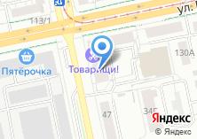 Компания «Уралспецмебель» на карте