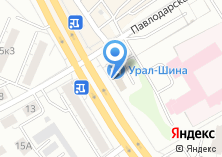 Компания «Урал-Шина» на карте