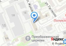 Компания «Чкаловская» на карте