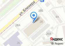 Компания «Уралэнерго» на карте