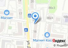Компания «МосРозаОПТ» на карте