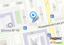 Компания «Перекрестки» на карте