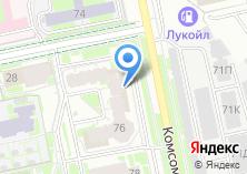 Компания «Сумма технологий» на карте