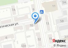 Компания «ЮРАЛЕКС» на карте