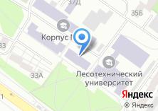 Компания «УГЛТУ» на карте