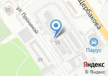 Компания «Екатеринбурггаз» на карте