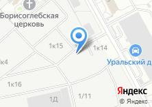 Компания «Уральский Крепеж» на карте