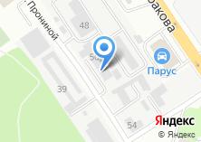 Компания «Газмастер96» на карте