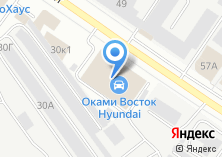 Компания «Оками Восток» на карте