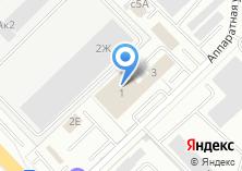 Компания «ИНТЕРИЯ» на карте