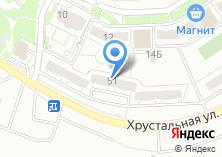 Компания «Уралтранссервис» на карте