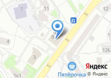 Компания «Техноволга» на карте