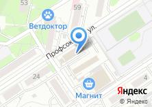 Компания «Твоя квартира» на карте
