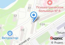 Компания «ИНТЕЛЛЕКТ» на карте