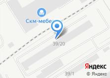 Компания «Вагонник» на карте