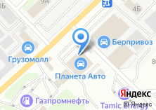 Компания «Планета Авто» на карте