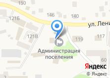 Компания «Большеистокская сельская администрация» на карте