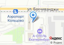 Компания «Самолёт» на карте