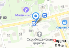 Компания «Магазин продуктов на Реактивной» на карте