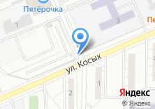 Компания «Автостоянка на ул. Косых» на карте