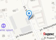 Компания «Свердловскавтодор» на карте
