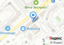 Компания «Лучик74» на карте