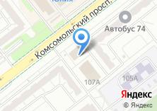 Компания «НТ-Сервис» на карте
