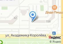 Компания «Урал» на карте