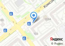 Компания «Продуктовый магазин на Комсомольском проспекте» на карте
