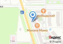 Компания «Банный дворик» на карте