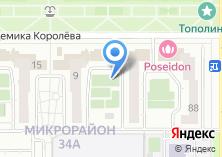 Компания «Иста» на карте