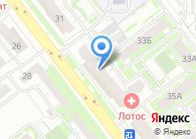 Компания «НПФ УРАЛСИБ» на карте