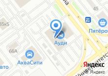 Компания «Ауди Центр Челябинск» на карте
