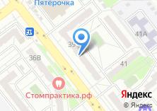 Компания «Золотой луч» на карте