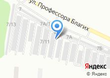 Компания «ЕК-Моторс» на карте