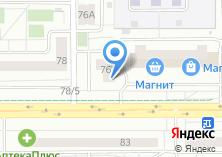 Компания «ИнтеллиСтрой» на карте