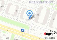 Компания «Благодатово» на карте
