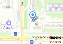 Компания «Продуктовый магазин на ул. Ворошилова» на карте