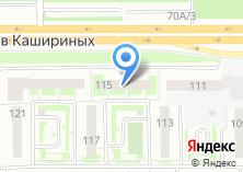 Компания «Инфо-консалтинг» на карте