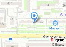 Компания «Мегабайт» на карте