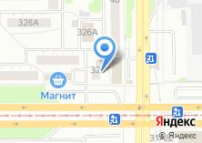 Компания «СтарБанк» на карте