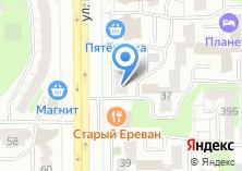 Компания «Форпост» на карте