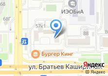 Компания «Общежитие ЧелГУ» на карте